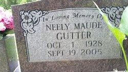 Neely Maude Gutter