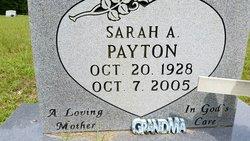 Sarah A Payton