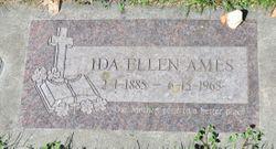 Ida Ellen <I>Harwood</I> Ames