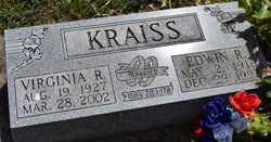 Virginia R <I>Kelly</I> Kraiss