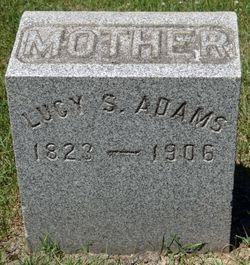 Lucy Swain <I>Merriam</I> Adams