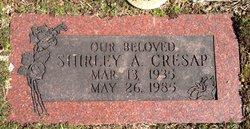 Shirley Ann <I>Sherwood</I> Cresap