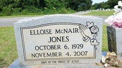 Elloise <I>McNair</I> Jones