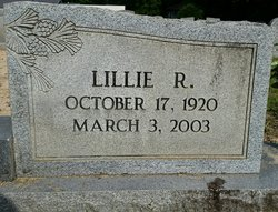 Lillie <I>Rhone</I> McGill