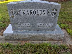 Martha A Karolus