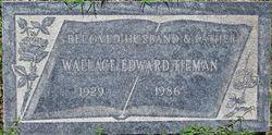 Wallace Edward Tieman