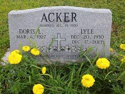 """Kenneth Lyle """"Lyle"""" Acker"""