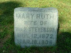 Mary Ruth <I>Merryman</I> Stevenson