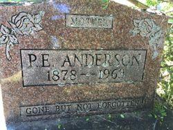 P E Anderson