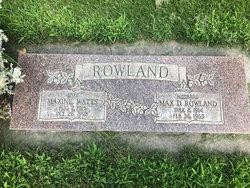 Maxine <I>Watts</I> Rowland