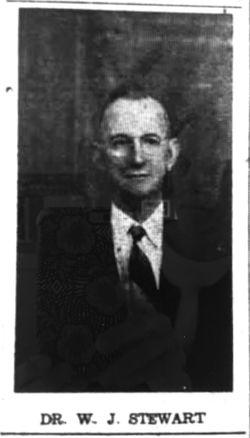 Dr William John Stewart