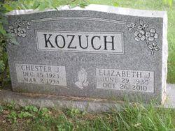 Elizabeth J. <I>Vinosky</I> Kozuch
