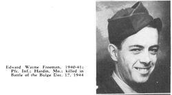 Edward W Freeman