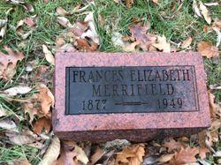 Frances Elizabeth <I>PAYNE</I> Merrifield