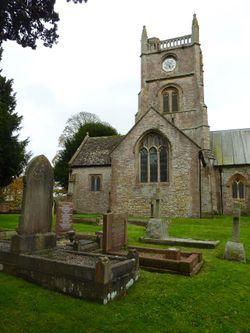 Queen Charlton St. Margaret Churchyard