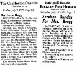 Bertha Dorothy <I>Bennett</I> Bragg