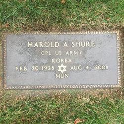 Harold A Shure