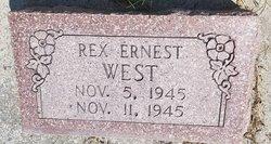 Rex Earnest West