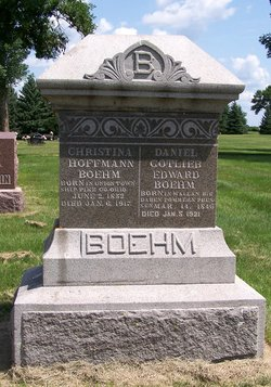 Christena <I>Hoffmann</I> Boehm