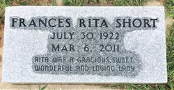 Frances Rita <I>Kearney</I> Short