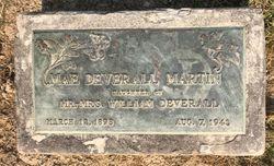 Mae Lillian <I>Deverall</I> Martin