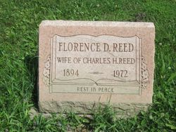 Florence D. <I>Blowers</I> Reed
