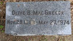 Olive Bryden MacGregor