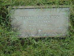 Henry Singleton