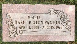 Hazel Isabella <I>Pixton</I> Paxton