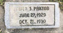 Owen Shirl Paxton