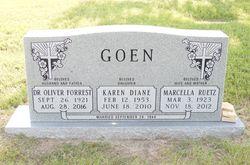 Dr Oliver Forrest Goen