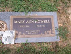 Mary Ann <I>Cox</I> Howell