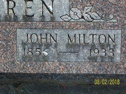John Milton Warren
