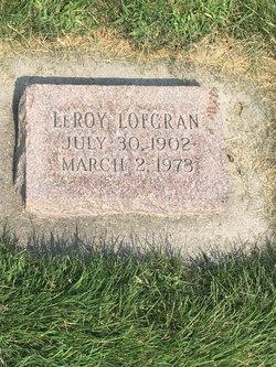 Leroy Ephraim Lofgren
