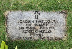 Mrs Agnes Gertrude <I>Vasconcellos</I> Mello