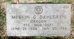 Mervin Gilbert Dahlgren