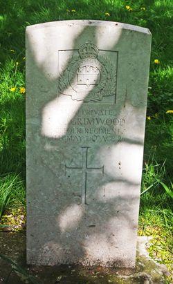 Pvt Spencer George Grimwood