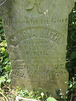 Maria <I>Schanck</I> Lueth