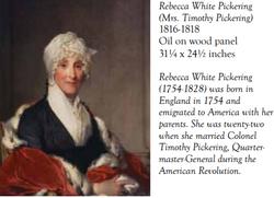Rebecca <I>White</I> Pickering