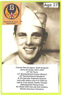 SSgt Charles Marvin Agard