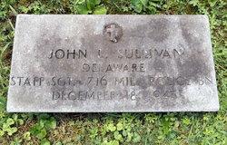 Sgt John Leo Sullivan