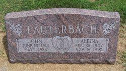 Albina <I>Dietrich</I> Lauterbach