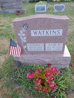Jessie M. <I>Cross</I> Watkins
