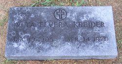 Reta Elvera <I>Cook</I> Kreider
