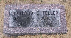 Maitland G Teller
