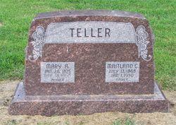 Mary A <I>Miller</I> Teller