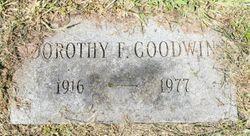 Dorothy Frances <I>Philpott</I> Goodwin