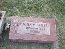 John M Sauser