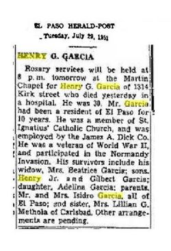 Henry Galindo Garcia