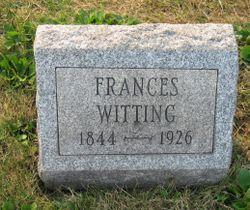 Frances <I>Granz</I> Witting